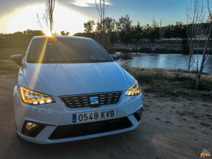 Frontal con luces Seat Ibiza - Seat Ibiza TGI Xcellence 2019: Una buena decisión para los jóvenes
