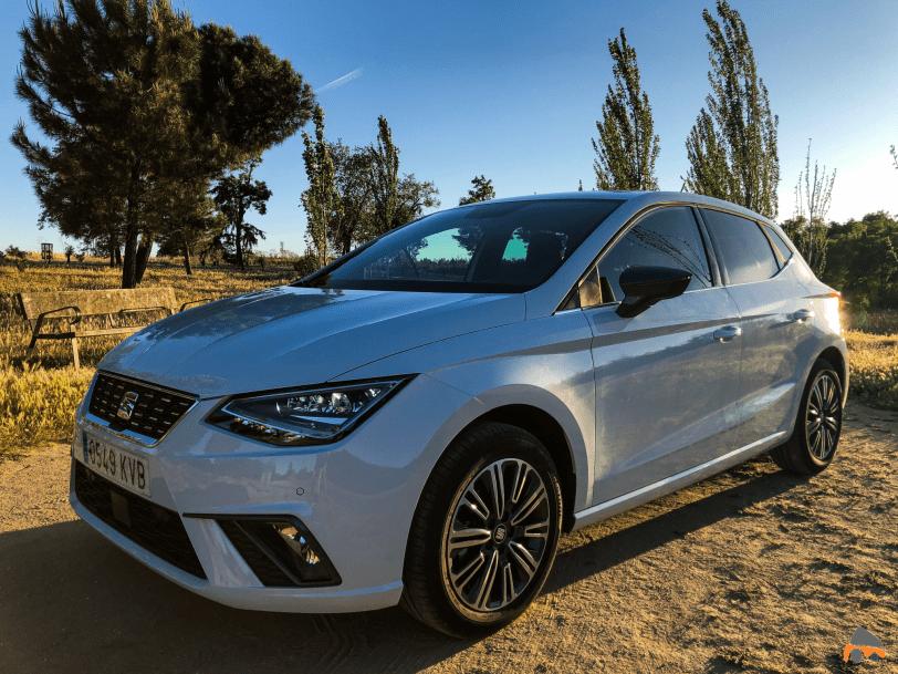 Frontal lateral izquierdo Seat Ibiza - Seat Ibiza TGI Xcellence 2019: Una buena decisión para los jóvenes