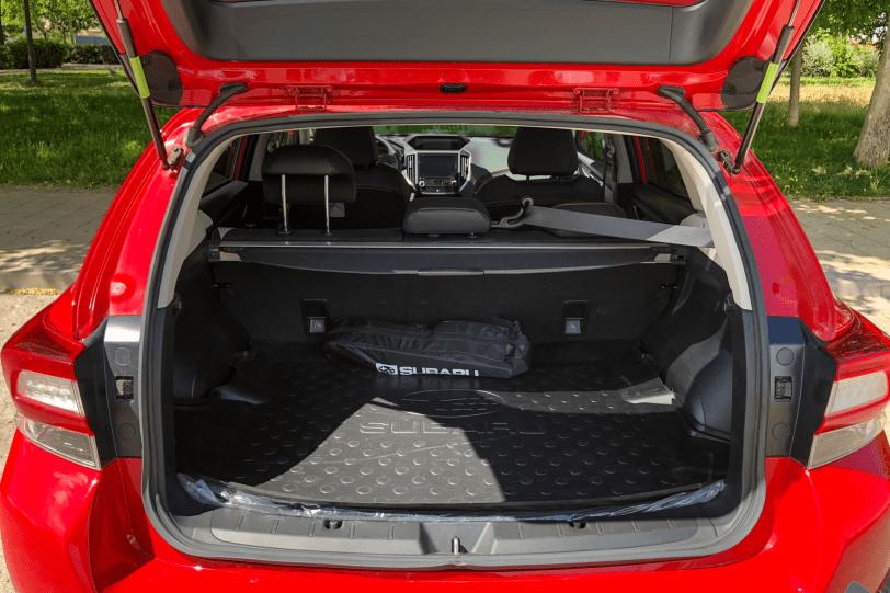 Maletero 5 plazas Subaru XV 1260x840 - Subaru XV Executive Plus GLP: Una alternativa por precio, calidad y equipamiento
