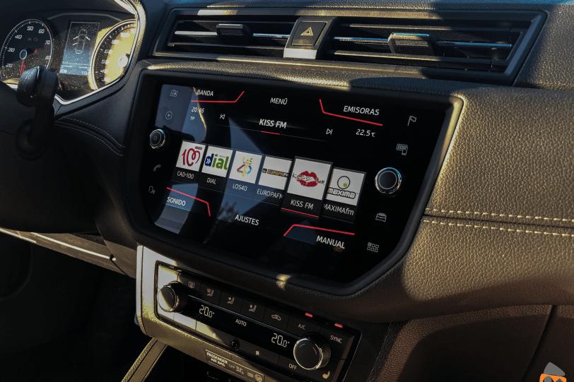 Sistema multimedia Seat Ibiza 1260x840 - Seat Ibiza TGI Xcellence 2019: Una buena decisión para los jóvenes