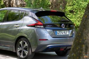 Trasera Izquierda Nissan Leaf - Una semana usando un Nissan Leaf como vehículo principal