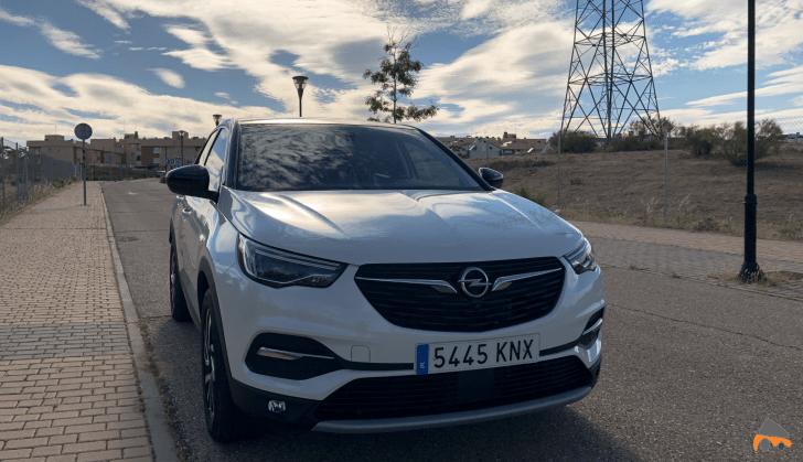 Frontal lateral izquierdo Opel Grandland X - Opel Grandland X Ultimate 1.2 T 130 CV