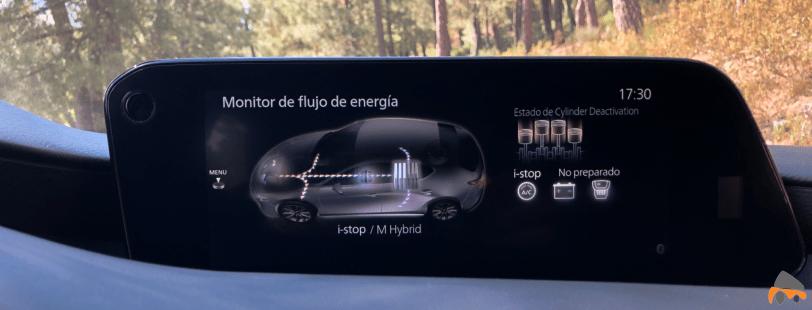 Flujo de energia Mazda3 - Nuevo Mazda3: Un compacto deportivo con tecnología Mild-Hybrid
