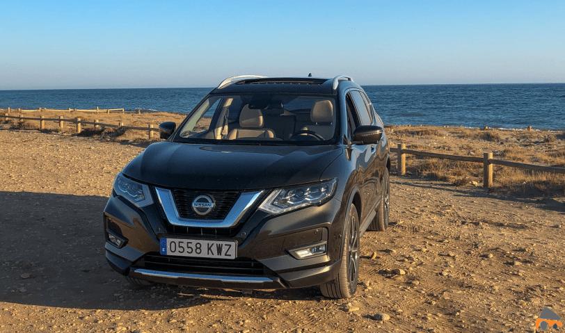 Frontal Lateral Izquierdo Nissan X Trail 2019 - Prueba del Nissan X-Trail en un viaje largo. Ahora tiene nuevos motores e introduce el sistema ProPilot