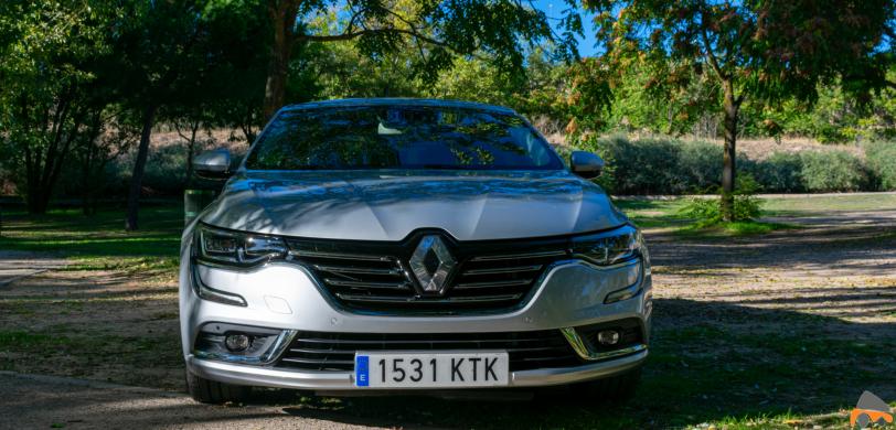 Frontal Renault Talisman diesel - Renault Talisman: Una berlina rápida, deportiva y muy cómoda