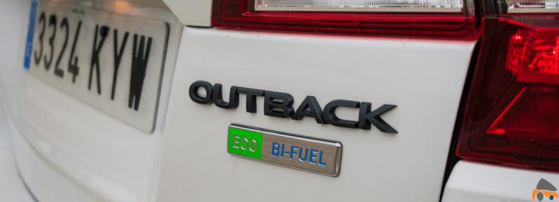 Logo Bi Fuel GLP Subaru Outback Black Edition GLP - Subaru Outback Black Edition GLP: Un familiar diseñado para el confort y las excursiones