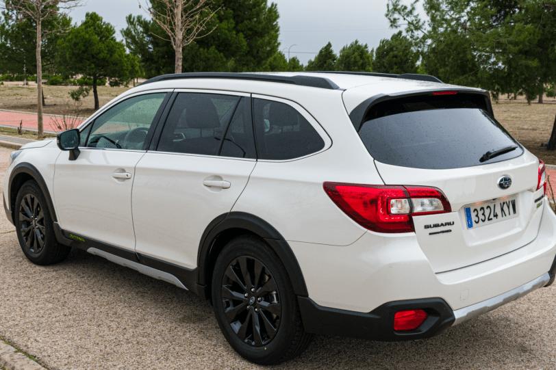 Trasera lateral izquierdo Subaru Outback Black Edition GLP 1260x840 - Subaru Outback Black Edition GLP: Un familiar diseñado para el confort y las excursiones