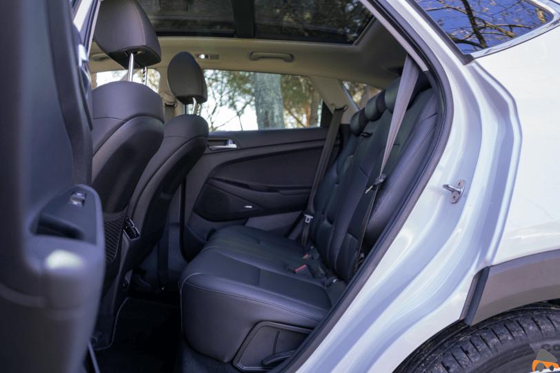 Plazas traseras lateral izquierdo Hyundai Tucson Mild Hybrid - Hyundai Tucson Mild Hybrid de 48 voltios: Un SUV micro híbrido diésel
