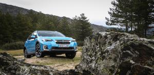 Frontal paisaje Subaru XV Hybrid - Prueba Subaru XV Eco Hybrid 2020: Un SUV híbrido, económico y con grandes cualidades off-road