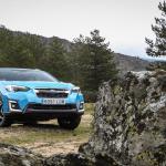 Frontal paisaje Subaru XV Hybrid - inicio
