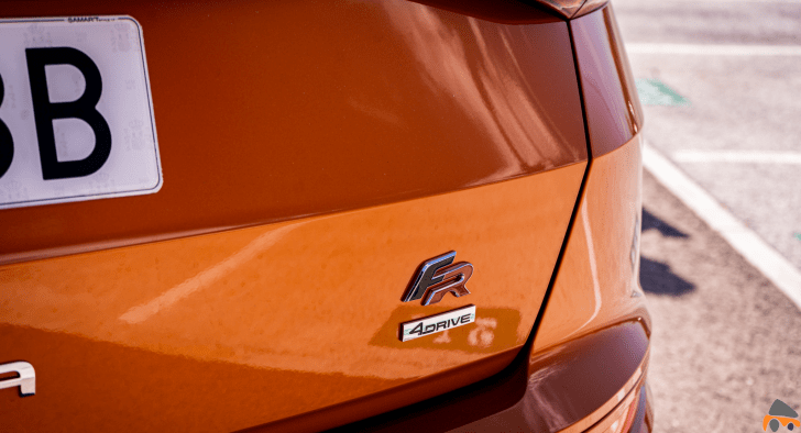 Logo FR Trasero Seat Ateca FR TDI - Prueba Seat Ateca FR 2.0 TDI 190 CV DSG 4Drive: La versión más potente del SUV español