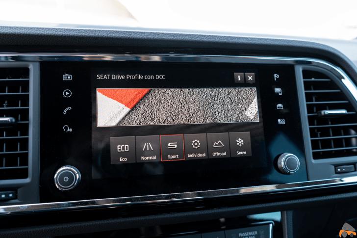 Seat Drive Profile Seat Ateca FR TDI - Prueba Seat Ateca FR 2.0 TDI 190 CV DSG 4Drive: La versión más potente del SUV español
