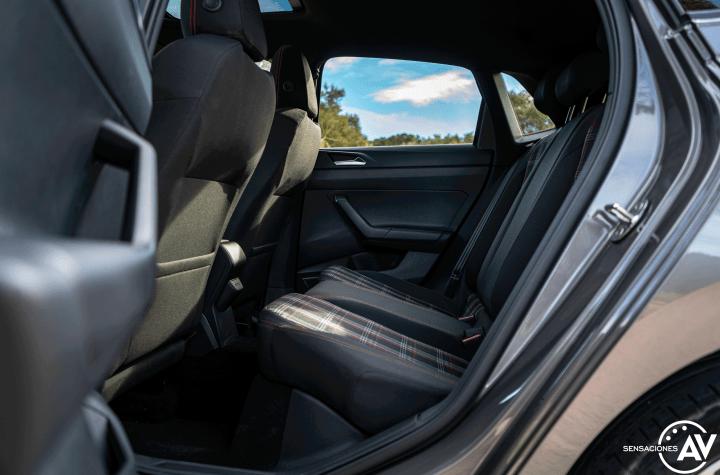 Plazas traseras vista izquierda Volkswagen polo gti - Prueba Volkswagen Polo GTI: 200 CV de pura diversión