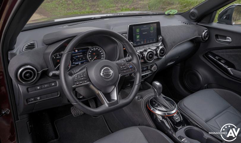 Salpicadero vista izquierda Nissan Juke 2020 Automatico - Nissan Juke automático o manual ¿Cuál me conviene?