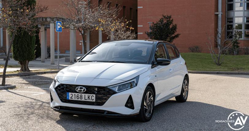Frontal lateral izquierdo Hyundai i20 - Prueba Hyundai i20 2021: ¿Evolución o revolución?