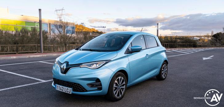 Frontal lateral izquierdo Renault Zoe - Prueba Renault Zoe Zen 50kWh: ¿De los mejores eléctricos?