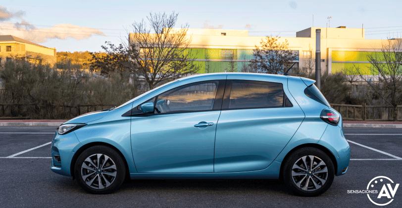 Lateral izquierdo Renault Zoe - Prueba Renault Zoe Zen 50kWh: ¿De los mejores eléctricos?