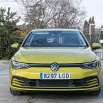 Frontal Volkswagen Golf 8 - Volkswagen Golf 8 1.5 eTSI 150 CV: ¿El rey con etiqueta ECO?