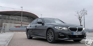 Frontal lateral derecho BMW Serie 3 320d XDrive M Sport Individual - Prueba BMW Serie 3 320d XDrive: Una berlina deportiva y tecnológica