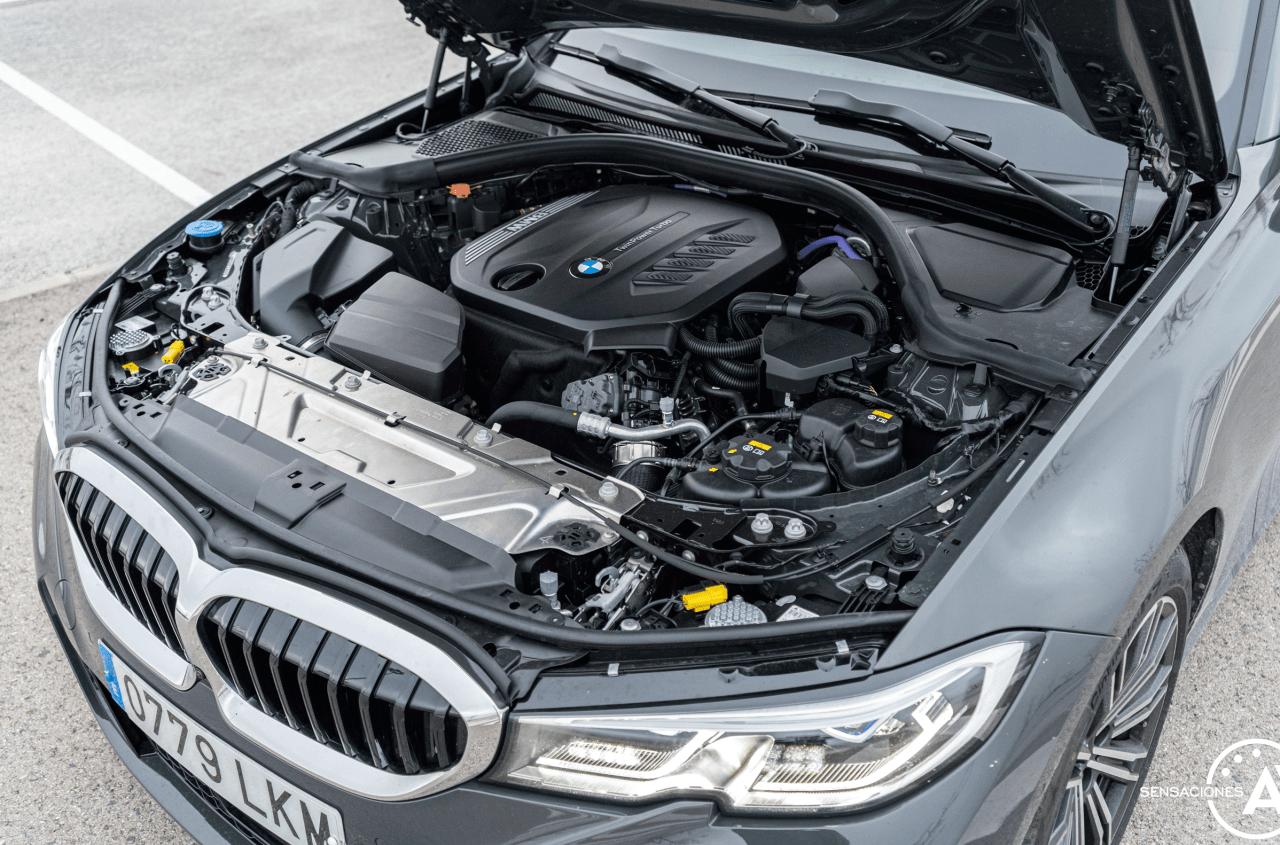 Motor BMW Serie 3 320d XDrive M Sport Individual - Prueba BMW Serie 3 320d XDrive: Una berlina deportiva y tecnológica