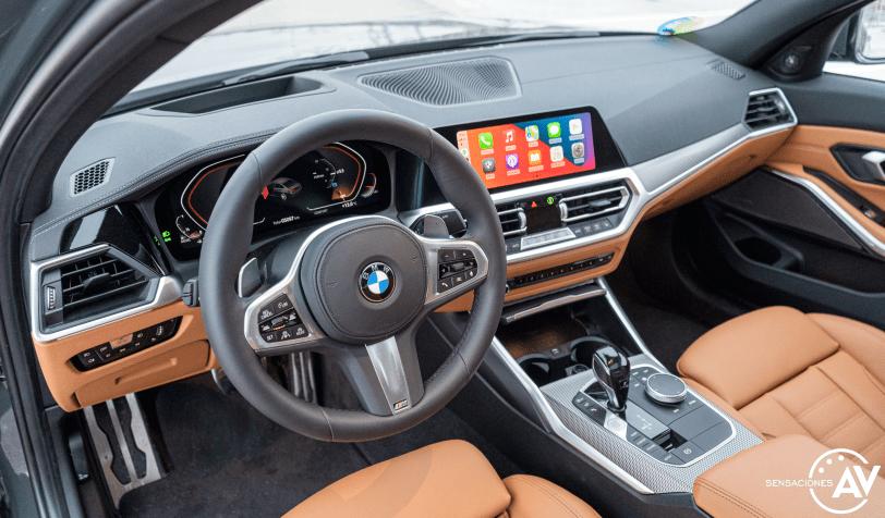 Salpicadero vista izquierda BMW Serie 3 320d XDrive M Sport Individual - Prueba BMW Serie 3 320d XDrive: Una berlina deportiva y tecnológica