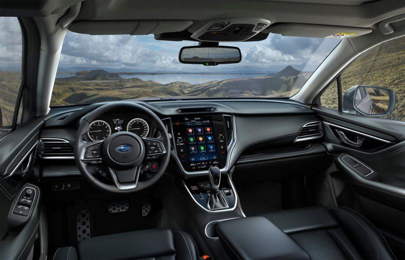 Subaru Outback Interior scaled - Subaru Outback 2021: La sexta generación ya está aquí