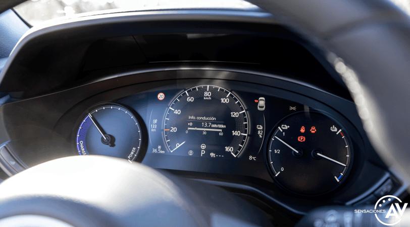 Tacometro Mazda MX 30 - Prueba Mazda MX-30: Un eléctrico diferente, ¿un acierto?