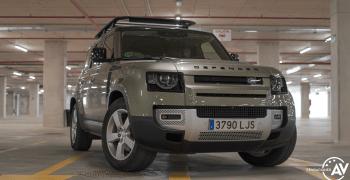 Frontal derecho Land Rover Defender 110 - inicio