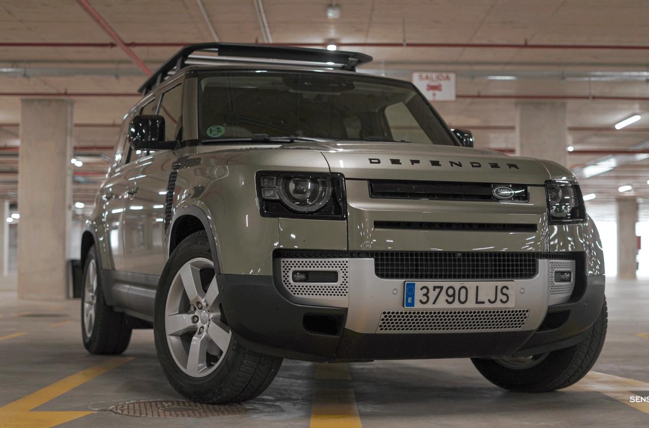 Frontal derecho Land Rover Defender 110 - Prueba Land Rover Defender 110: Confort y campo unidos a la perfección