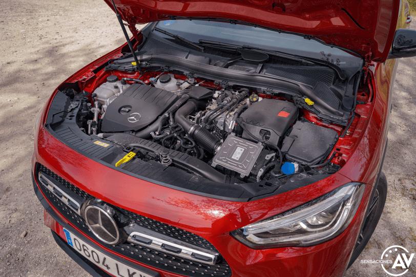 Motor Mercedes GLA 250e PHEV - Prueba Mercedes-Benz GLA 250 e: Una gran evolución