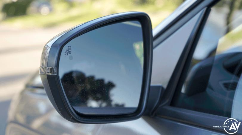 Espejo delantero izquierdo interior Peugeot 5008 2021 - Prueba Peugeot 5008 2021 Allure Pack: Un verdadero monovolumen
