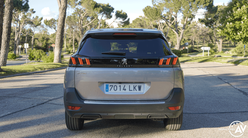 Trasera Peugeot 5008 2021 - Prueba Peugeot 5008 2021 Allure Pack: Un verdadero monovolumen