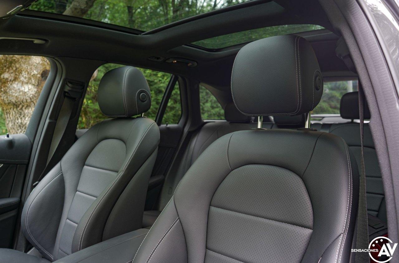 Asientos delanteros Mercedes Benz GLC 300de - Prueba Mercedes-Benz GLC 300de 4Matic: Un SUV familiar, híbrido enchufable y diésel ¿Una buena combinación?