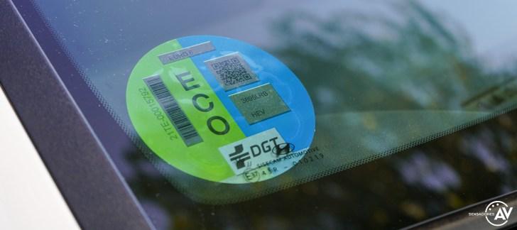 Etiqueta ECO Hyundai Bayon - Prueba Hyundai Bayon 1.0 TGDi 48 V 100 CV AT Tecno: ¿El nuevo rey del segmento B-SUV?