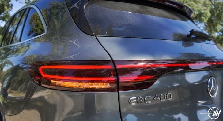 Faro trasero izquierdo Mercedes EQC - Prueba Mercedes-Benz EQC 400 4Matic: El SUV eléctrico de Mercedes que destaca por su confort y por su tecnología