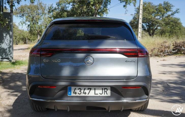 Trasera Mercedes EQC - Prueba Mercedes-Benz EQC 400 4Matic: El SUV eléctrico de Mercedes que destaca por su confort y por su tecnología