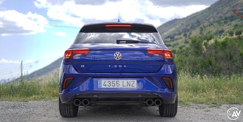 Trasera Volkswagen T Roc R - Prueba Volkswagen T-Roc R: 300 CV de pura adrenalina