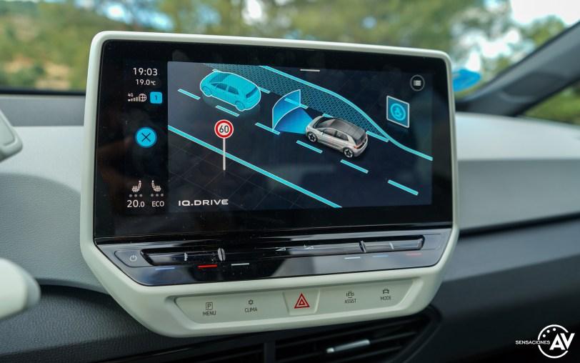 Asistentes a la conduccion Volkswagen ID3 - Prueba Volkswagen ID.3 Pro 2021: Una nueva era eléctrica
