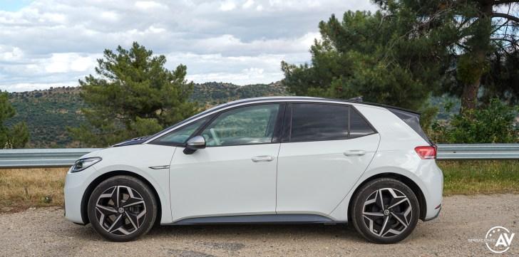 Lateral izquierdo Volkswagen ID3 - Prueba Volkswagen ID.3 Pro 2021: Una nueva era eléctrica