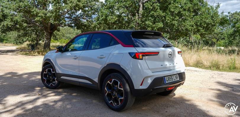 Trasera lateral izquierdo Opel Mokka 2021 - Prueba Opel Mokka 2021: Menos normal, más Mokka