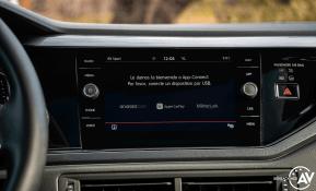 Pantalla multimedia Volkswagen polo gti p194mdchbnhvtic1goeujbxqhtbjeph47rtfzbg45c - Prueba Volkswagen Polo GTI: 200 CV de pura diversión