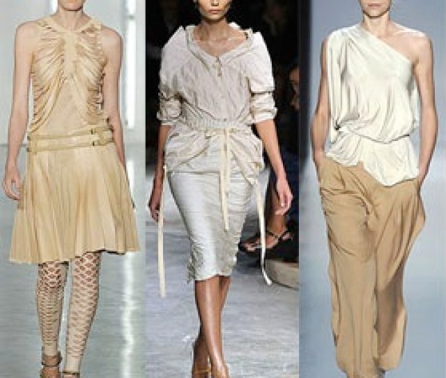 Fashion Color Trend The New Nudes