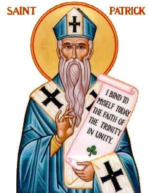 Image result for saint patrick, blue