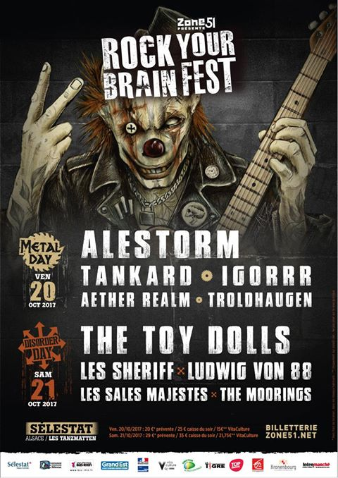 affiche Rock your brain