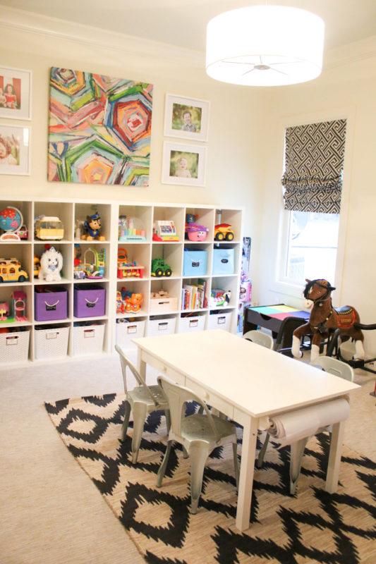 10 Awesome Playroom Organization Ideas