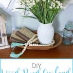 Diy Wood Bead Garland With Tassels Sense Serendipity