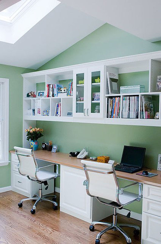 Sense & Serendipity | 12 Beautiful Home Office Ideas for Small Spaces, home office ideas, small spaces, home decor, office decor, guest room office