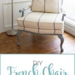 DIY French Chair Makeover