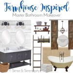 Farmhouse Inspired Master Bath Makeover: The Plan