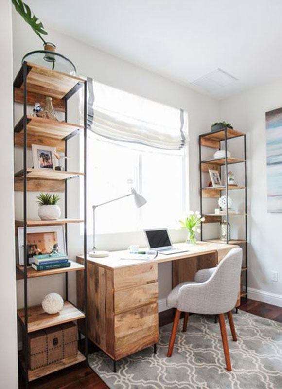 Beautiful Home Office 12 beautiful home office ideas for small spaces - sense & serendipity